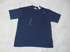NEW VINTAGE Fila Shirt Size Adult Extra Large Navy Blue Spell Out Logo Mens 90s