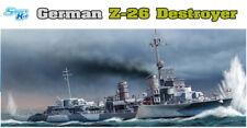 Dragon Plastic Model Kits #1064 1/350 German Z-26 Destroyer