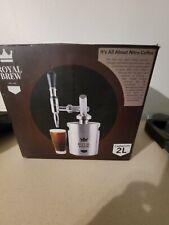 New listing Royal Brew Nitro Cold Brew Coffee Maker Machine Steel Keg Growler Home Kegerator