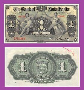 Jamaica 1 pound 1919 UNC - Reproduction