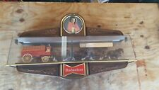Vintage Budweiser Beer World Champion Clydesdale Team Large Sign Display