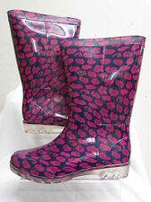 Unbranded Wellington Slip on Synthetic Women's Boots