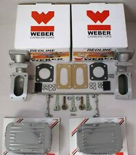 Triumph TR6 Weber Carb / TR250 1967-1976 Carburetor kit w/manual choke Webers