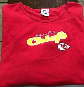 women's Kansas City Chiefs s/s t-shirt size XXL red