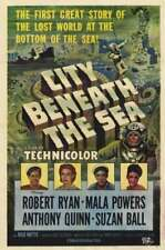 16mm Feature: CITY BENEATH THE SEA (I B TECHNICOLOR) ROBERT RYAN / ANTHONY QUINN