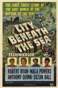 16mm Feature: CITY BENEATH THE SEA (I B TECHNICOLOR) ROBERT RYAN / ANTHONY QUINN
