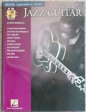 WOLF MARSHALL: The Best of Jazz Guitar book + CD