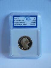 2007 PR-70 DCAM 1st GIORNO EMISSIONE MONETE 1st presidente statunitense George Washington $1 DOLLARO