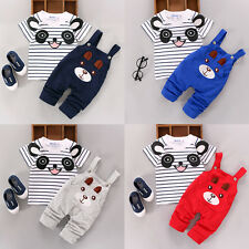 Infant Baby Kids Boy Girl Summer T-shirt Tops+Pants Overalls Outfits Clothes Set