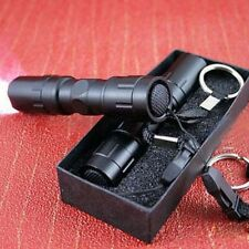 Flashlight Torch Handy Mini LED Light Lamp Keychain Black Waterproof Hot