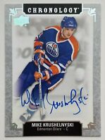 2018-19 Upper Deck Chronology Mike Krushelnyski Autographed Card