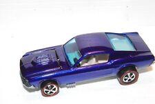 Custom Mustang Original Hot Wheels Redline Premium Restore HK Purple Deep Dish