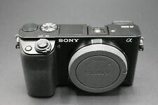 Sony Alpha A6000 ILCE-6000 24.3MP Digital Mirrorless Compact Camera - Black