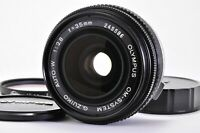 (Excellent +++++)  Olympus G.Zuiko 35mm f/2.8 MF SLR Lens From JAPAN A269