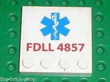 LEGO SPIDER MAN tile 6179 + sticker 50882 / Set 4857  Doc Ock's Fusion Lab
