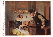 BF40374 jan steen the harpsichord lesson piano painting   music opera singer