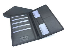 Golunski BM-609: Mens Quality Smooth Black Leather Full Size Wallet.