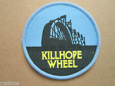 Killhope Wheel Woven Cloth Patch Badge