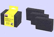Schleifblock Set 3 tlg Schleifschwämme 100x70x25mm Schleifklotz Schleifschwamm