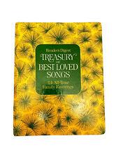 Reader's Digest TREASURY OF BEST LOVED SONGS Songbook-HB-Spiral-1972-114 Songs
