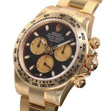 Rolex Daytona 116508 Yellow Gold Oyster Black Paul Newman Dial 40mm Watch
