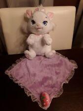 DISNEY PARKS BABIES MARIE ARISTOCATS WHITE KITTY CAT PLUSH BLANKET