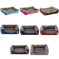 Pet Dog Bed Orthopedic Large Dog Beds Dog House Nest Kennel for Cat Puppy_DS