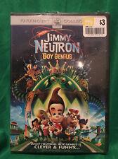 Jimmy Neutron: Boy Genius (DVD, 2002, Sensormatic)