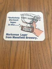 Old Marksman Lager Beer Mat