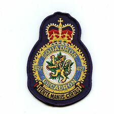 RCAF CAF Canadian 427 Squadron Heraldic Colour Crest Patch