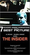 The Insider (VHS, 2000, Letterboxed)