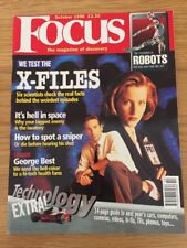 FOCUS MAGAZINE October 1996 The X Files, The Revolution In Robots George best