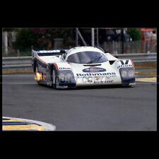 Photo A.012905 PORSCHE 962 C 24 HEURES LE MANS 1987