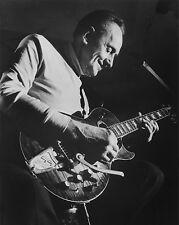 Jazz Blues Guitarist LES PAUL Glossy 8x10 Photo Music Inventor Print Poster