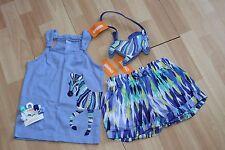 NUEVO CON ETIQUETA niña Gymboree Talla 6 jirafa Camisa, Pantalones cortos,