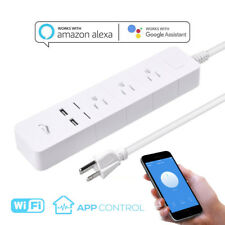 Wifi Smart Power Strip Socket Remote Control Surge Protector Works with Alexa
