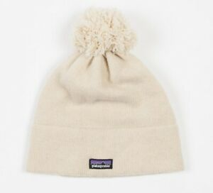 Women's PATAGONIA Vintage Town Beanie #33405 Wool Blend Stretchy Knit Snow Hat