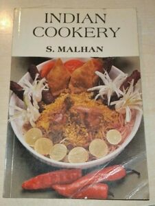 INDIA COOKERY Malhan 1994 JAICO PUBLISHING HOUSE