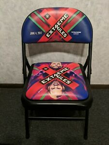 WWE Extreme Rules Ringside Chair 2017 - Hardy Boys
