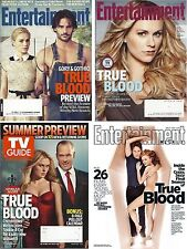 Anna Paquin 4 Magazine Lot Entertainment Weekly TV Guide 2012 True Blood Moyer