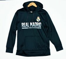 Officially Licensed Real Madrid Soccer Football Club Small Black Hoodie