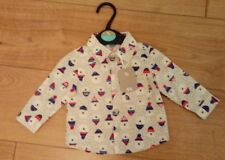 New Baby Boy Palar Bear Buttoned 100% Cotton Shirt Age Up to 3 Months 56/62cm