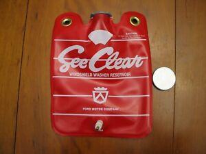 1958 Ford Thunderbird Windshield Washer Fluid Reservoir Bag & Cap Reproduction