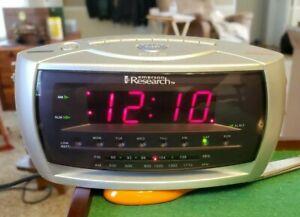 Emerson Research Smart Set Dual Alarm Clock