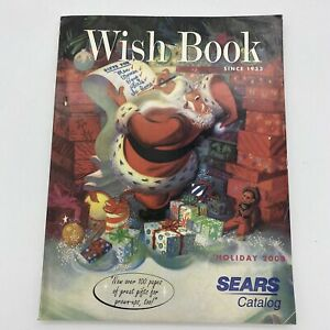 2000 Sears Wish Book Santa Christmas Toy Catalog (Illustrated Cover)