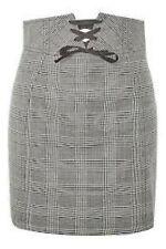 Topshop PETITE Corset Lace Up Skirt Size UK 4 RRP £38 NH097 CC 10