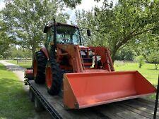 Kubota M7040 4x4 Tractor with La1153 Loader