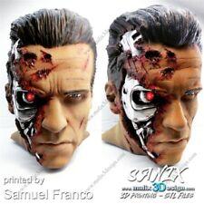 Terminator Bust Unpainted Figure Blank Kit Model Resin GK 25cm Hot Toy Stock New