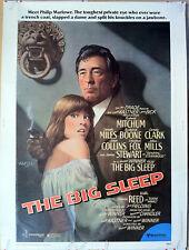 """Vintage 1978 Poster / Lithograph - The Big Sleep 30"""" x 40"""""""
