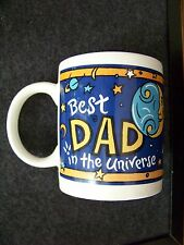 Best DAD in the Universe ceramic mug coffee cup anyone can be best in the world